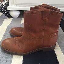 Madewell Otis Boot Mahogany Size 6 Photo