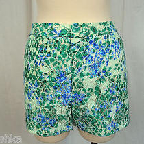 Madewell Painted Lacebloom Shorts Size 12  Photo