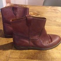 Madewell Pull-on Leather Boots Shoe Size 8 Photo