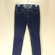 Madewell Rail Straight Dark Wash Jeans Size 26 X 30 Euc Women's Photo