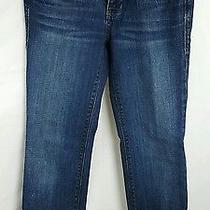 Madewell Rail Straight Dark Wash Jeans Size 28 X 28 Euc Women's V1 Photo