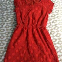 Madewell Red Dress 2 Preowned Photo