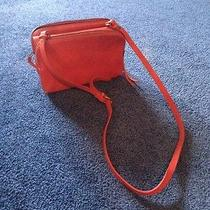 Madewell Red Leather Bag Photo