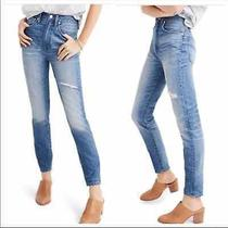 Madewell Rigid Skinny High-Rise Jeans Blue 27 Photo