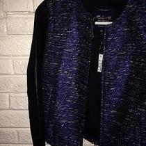 Madewell Shimmerweave Bomber Jacket Small Photo