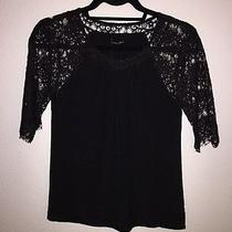 Madewell Silk and Lace Shirt Photo