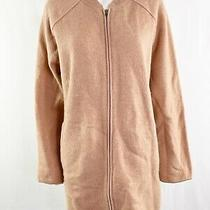 Madewell Size Xl Blush Pink Zip Up Bomber Sweater Cardigan With Pockets Photo