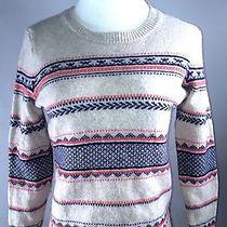 Madewell Ski Sweater Style Wool Blend Size Medium Photo