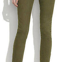 Madewell Skinny Skinny Ankle Stretch Jeans Tuscan Olive Green Womens Sz 26 Photo
