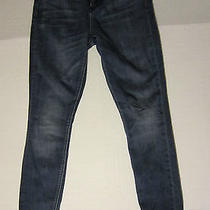 Madewell Skinny Skinny High Riser Med Wash Blue Denim Jeans Sz 26 X 30 Photo