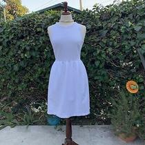 Madewell Sleeveless White Casual Party Dress for Women Photo