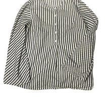 Madewell Striped Flare Sleeve Shirt Top Blouse Women's Size Xs Photo