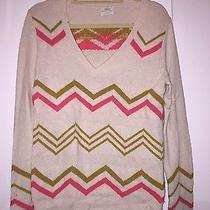 Madewell Sweater in Argyle Print Photo
