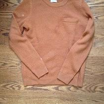 Madewell Sweater Rust Orange Small Photo