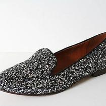 Madewell Teddy Loafer in Glitter 7.5 Hematite Black Gray Flats Shoes Jcrew Photo
