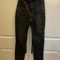Madewell the Curvy Perfect Vintage Black Jean Size 27 Photo