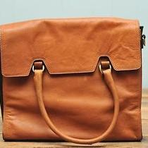 Madewell the Dalloway Tote Burnished Caramel 268 Photo