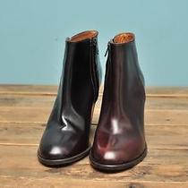 Madewell the Hadley Boot Wine 9.5 268 Photo