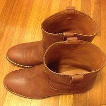 Madewell the Pull on Boots Size 7 Mahogany J Crew Photo