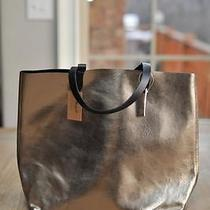 Madewell the Reversible Transport Tote Metallic 188 Photo