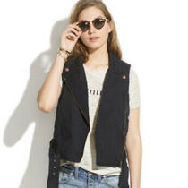 Madewell Tour Vest Navy Size Small  Photo