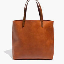 Madewell Transport Tote in English Saddle 168 Photo