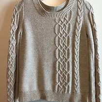 Madewell Wallace Cable Knit Sweater Xs Photo