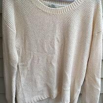 Madewell Wallace Off White Sweater Photo