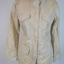 Madewell Waxed Military Anorak Size Medium Vintage Canvas Photo