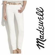 Madewell White Skinny Pants Jeans 27 Photo