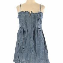 Madewell Women Blue Casual Dress 14 Photo