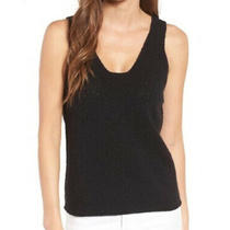 Madewell Women's Black Springdale Sweater Tank Top Size Xxs  Worn Only Once Photo