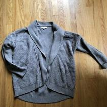 Madewell Women's Cardigan Open Knit Sweater S Small Photo