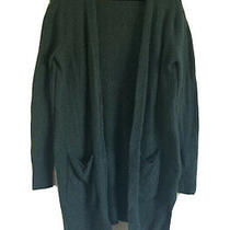Madewell Womens Open Patch Pocket Cardigan Sweater Wool Green Xs Photo