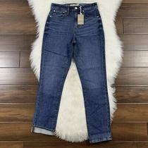 Madewell Women's Size 24 Eco Edition the High Rise Slim Boyjean Jeans J8753  Photo