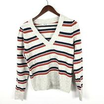 Madewell Women's Westgate v Neck Sweater Size Small New Photo