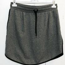 Madewell Womens Heather Gray Cotton Mini Skirt Size S Photo