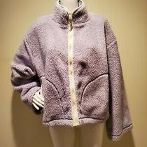 Madewell X Penfield Haight Fleece Jacket Lavender Teddy M Photo