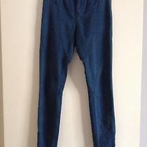 Madewell Zipper Leg Jeggings Denim Leggings Size 25 Photo