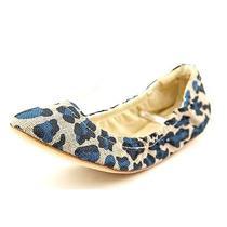 Madison Harding Mawby Womens Size 6.5 Blue Textile Ballet Flats Shoes No Box Photo