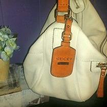 Madison Medium Gucci Off White Leather Hobo Photo