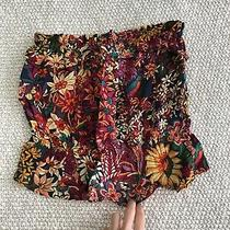 Maeve by Anthropologie Floral Crop Top Pink Xs Photo