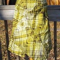 Mag by Magaschoni Tie Dye Wrap Style Asymmetric Skirt  Size 8 Photo