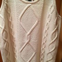 Magaschoni 100% Wool Cable Sweater Photo