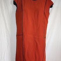 Magaschoni Collection Orange Dress Photo
