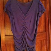 Magaschoni Purple Knit Top Photo