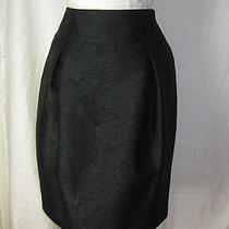 Magaschoni Skirt 10 Black Pencil Skirt  Nwt  Photo