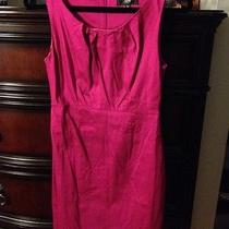 Magenta Fitted Dress Photo