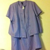 Maggie Barns Nwt 2-Piece Purple Dress With Jacket  Photo