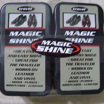 Magic Shine  Shoe Polish With Foam Applicator 2-Ct. Pk Photo